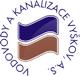 Logo firmy Vodovody a kanalizace Vyškov, a.s.